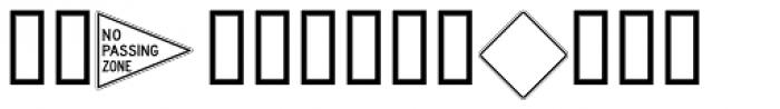 DOT Border Font UPPERCASE