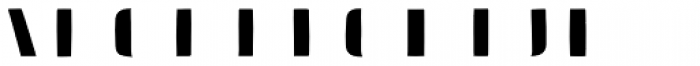 Doblo Fill B Font LOWERCASE