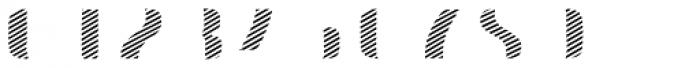 Doblo Stripes A Font OTHER CHARS
