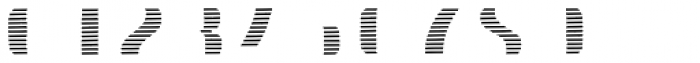 Doblo Stripes B Font OTHER CHARS