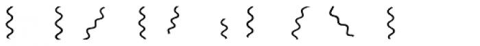 Doblo Waves Font OTHER CHARS