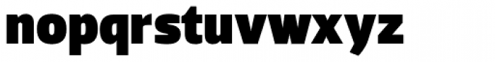 Dobra Black Font LOWERCASE