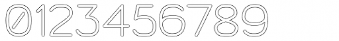 Doctarine Bold Outline Font OTHER CHARS