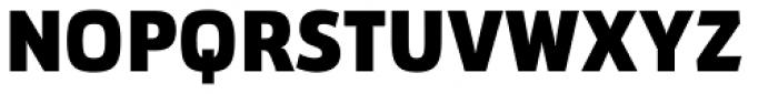 Docu Extra Bold Font UPPERCASE