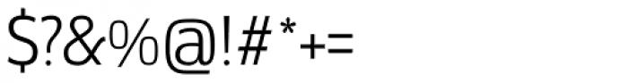 Docu Light Font OTHER CHARS