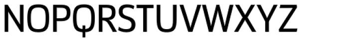 Docu Regular Font UPPERCASE
