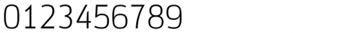 Docu Thin Font OTHER CHARS