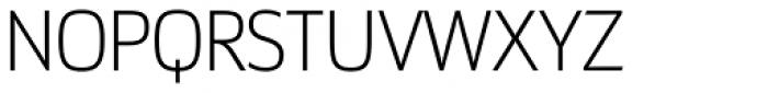 Docu Thin Font UPPERCASE
