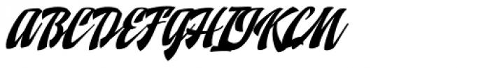 Doedel Alternate 1 Multiple Font UPPERCASE