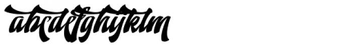 Doedel Alternate 2 Multiple Font LOWERCASE