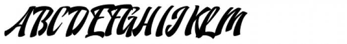 Doedel Alternate 3 Multiple Font UPPERCASE