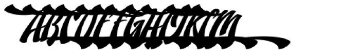 Doedel Alternate 5 Multiple Font UPPERCASE