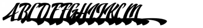 Doedel Alternate 6 Multiple Font UPPERCASE