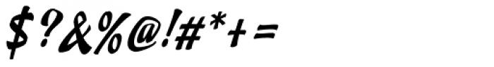 Doedel Standard Font OTHER CHARS