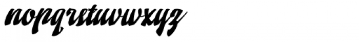 Doedel Standard Font LOWERCASE