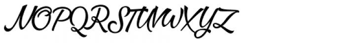 Dog Days Brush Font UPPERCASE