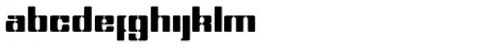 Dog Tag Regular Font LOWERCASE