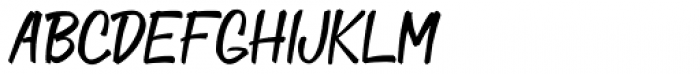 Doggie Bag Script Font UPPERCASE
