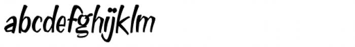 Doggie Bag Script Font LOWERCASE