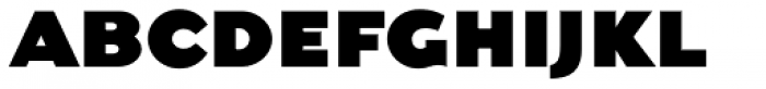 Dogma Black Font UPPERCASE