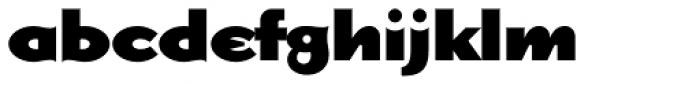 Dogma Black Font LOWERCASE