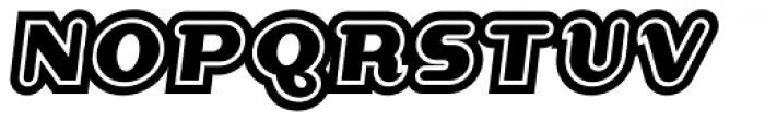 Dogma Extra Outline Font UPPERCASE