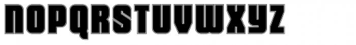 Dohrma Inline Font UPPERCASE