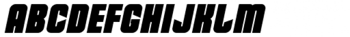 Dohrma Italic Font UPPERCASE
