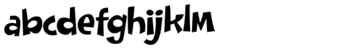 Doinky Font LOWERCASE