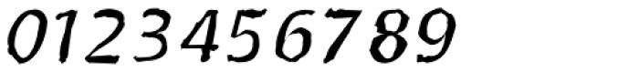 Doki Doki Tokimeki Eroded Italic Font OTHER CHARS