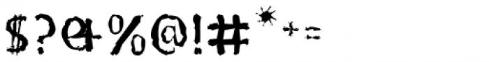 Doki Doki Tokimeki Eroded Font OTHER CHARS
