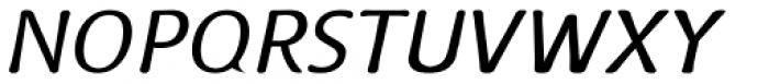 Doki Doki Tokimeki Light Italic Font UPPERCASE