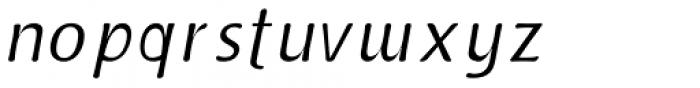 Doki Doki Tokimeki Light Italic Font LOWERCASE