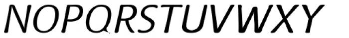 Doki Doki Tokimeki Thin Italic Font UPPERCASE