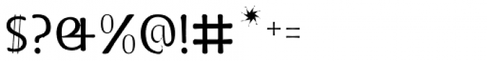 Doki Doki Tokimeki Thin Font OTHER CHARS