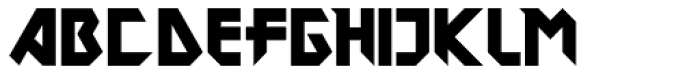 DokterBryce Black Font UPPERCASE