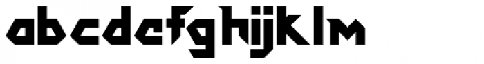 DokterBryce Black Font LOWERCASE