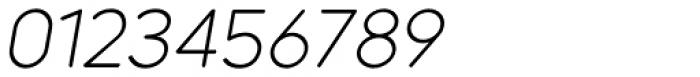 Dol 45 Light Oblique Font OTHER CHARS