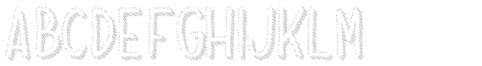 Dolce Caffe Shadow Font UPPERCASE