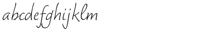 Dolce Thin Font LOWERCASE
