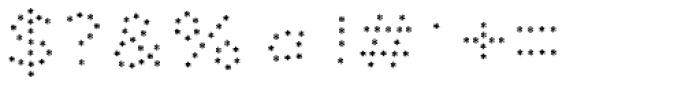 Dolcissimo Asterisks Font OTHER CHARS