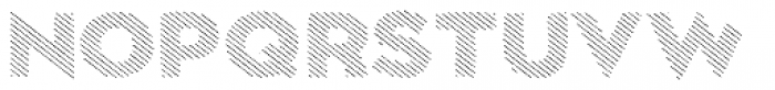 Dolcissimo Lines Font UPPERCASE