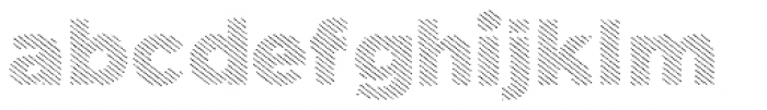 Dolcissimo Lines Font LOWERCASE