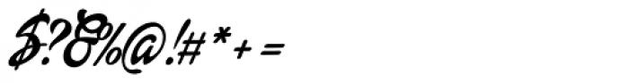Dollie Script Font OTHER CHARS