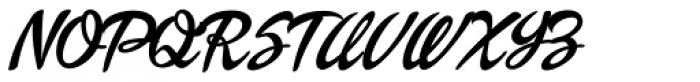 Dollie Script Font UPPERCASE
