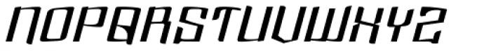 Dolsab Demi Italic Font UPPERCASE