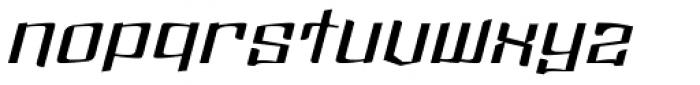 Dolsab Demi Italic Font LOWERCASE