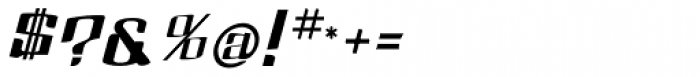 Dolsab Extra Italic Font OTHER CHARS