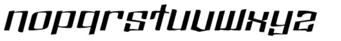 Dolsab Extra Italic Font LOWERCASE