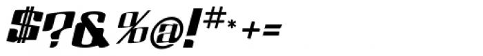 Dolsab Heavy Italic Font OTHER CHARS